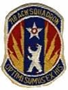 718th Aircraft Control and Warning Squadron
