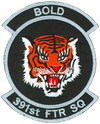 391st Fighter Squadron  - Bold Tigers