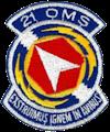 21st Organizational Maintenance Squadron