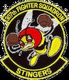 307th Fighter Squadron  - Stingers